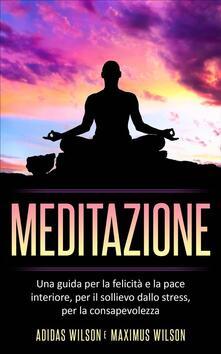 Meditazione - Adidas Wilson - ebook