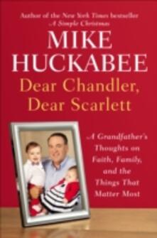 Dear Chandler, Dear Scarlett