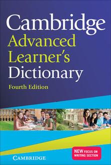 Cambridge advanced learner's dictionary - copertina