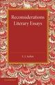 Reconsiderations: Literary Essays