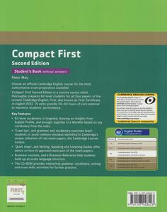 Compact First Student's Pack (Student's Book without Answers with CD ROM, Workbook without Answers with Audio) - Peter May - 2