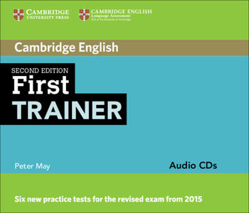 cambridge first trainer  First Trainer Audio CDs (3) - Peter May - Libro in lingua inglese ...