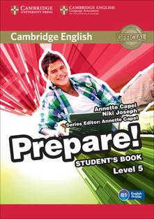 Cambridge English Prepare! - Annette Capel,Niki Joseph - cover