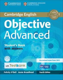 Objective Advanced - Felicity O'Dell,Annie Broadhead - cover