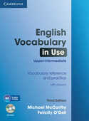 Libro in inglese English Vocabulary in Use Upper-intermediate with Answers and CD-ROM Michael J. McCarthy Felicity O'Dell
