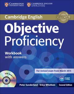Objective Proficiency - Peter Sunderland,Erica Whettem - cover
