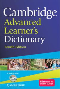 Cambridge advanced learner's dictionary. Con CD-ROM