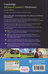 Cambridge advanced learner's dictionary. Con CD-ROM - 2