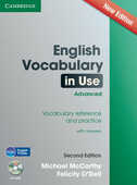 Libro in inglese English Vocabulary in Use Advanced with CD-ROM: Vocabulary Reference and Practice Michael J. McCarthy Felicity O'Dell
