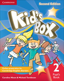 Kid's Box Level 2 Pupil's Book - Caroline Nixon,Michael Tomlinson - cover