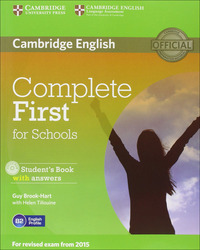 COMPLETE FIRST FOR SCHOOLS SECOND EDITIO