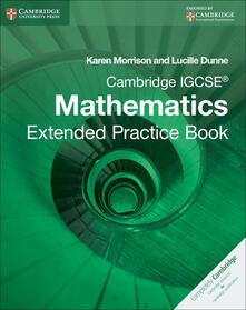 Cambridge International IGCSE - Karen Morrison,Lucille Dunne - cover