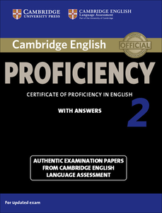Libro in inglese Cambridge English Proficiency 2 Student's Book with Answers: Authentic Examination Papers from Cambridge English Language Assessment  - Victorian Association for Environmental Education