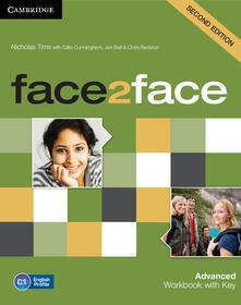 Face2face. Advanced. Workbook with key. Per le Scuole superiori. Con espansione online - Chris Redston,Gillie Cunningham - copertina
