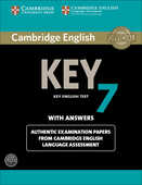 Libro in inglese Cambridge English Key 7 Student's Book Pack (Student's Book with Answers and Audio CD): Authentic Examination Papers from Cambridge English Language Assessment