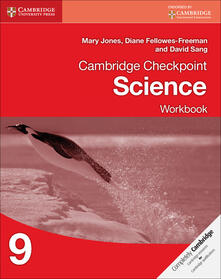 Cambridge Checkpoint Science Workbook 9 - Mary Jones,Diane Fellowes-Freeman,David Sang - cover