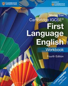 Cambridge IGCSE (R) First Language English Workbook - Marian Cox - cover