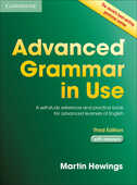 Libro in inglese Advanced Grammar in Use with Answers: A Self-Study Reference and Practice Book for Advanced Learners of English Martin Hewings