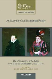 An Camden Fifth Series An Account of an Elizabethan Family - cover