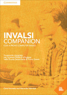 INVALSI Companion Elementary Student's Book/Workbook with Online Tests and MP3 Audio - Clare Kennedy,Weronika Salandyk - cover