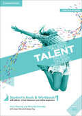 Libro in inglese Talent Level 1 Student's Book/Workbook Combo with eBook Clare Kennedy Weronika Salandyk