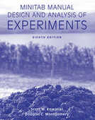 Libro in inglese Minitab Manual Design and Analysis of Experiments Douglas C Montgomery Scott M Kowalski