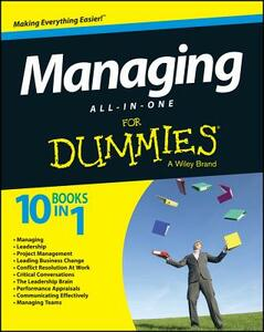 Managing All-in-One For Dummies - Traci Cumbay,Consumer Dummies - cover