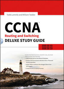 CCNA Routing and Switching Deluxe Study Guide: Exams 100-101, 200-101, and 200-120 - Todd Lammle,William Tedder - cover