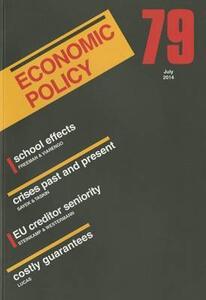 Economic Policy 79 - cover