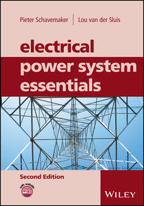 Electrical Power System Essentials - Pieter Schavemaker,Lou van der Sluis - cover