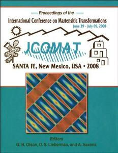 International Conference on Martensitic Transformations (ICOMAT) 2008 - cover