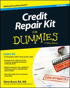 Credit Repair Kit For Dummies - Steve Bucci - cover