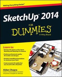 SketchUp 2014 For Dummies - Aidan Chopra - cover
