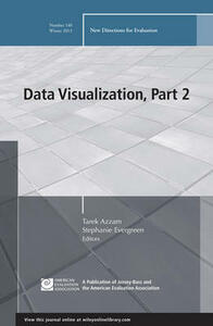 Data Visualization, Part 1: New Directions for Evaluation, Number 139 - cover
