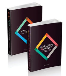 Web Design with HTML, CSS, JavaScript and jQuery Set - Jon Duckett - cover