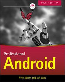 Professional Android - Reto Meier,Ian Lake - cover