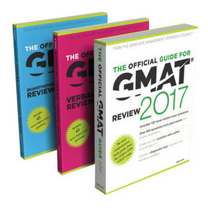 Libro in inglese The Official Guide to the GMAT Review 2017 Bundle + Question Bank + Video  - Graduate Management Admission Council (GMAC)