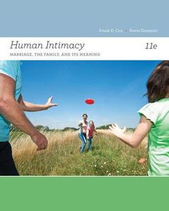 Foto Cover di Human Intimacy: Marriage, the Family, and Its Meaning, Libri inglese di Frank D Cox, edito da Cengage Learning, Inc