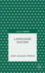 Language Racism - J. Weber - cover