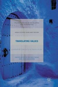 Translating Values: Evaluative Concepts in Translation - cover