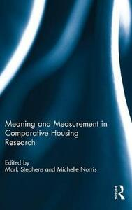 Meaning and Measurement in Comparative Housing Research - cover