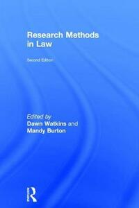 Research Methods in Law - cover