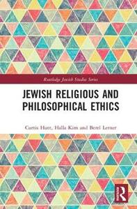Jewish Religious and Philosophical Ethics - cover