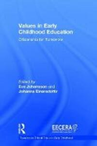Values in Early Childhood Education: Citizenship for Tomorrow - cover