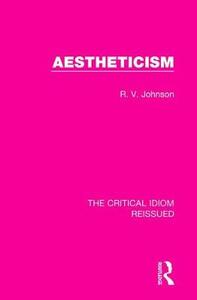 Aestheticism - R. V. Johnson - cover