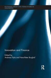 Innovation and Finance - cover