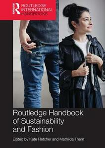Routledge Handbook of Sustainability and Fashion - cover