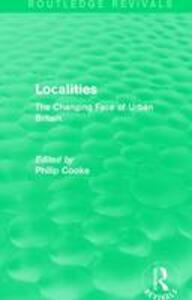 : Localities (1989): The Changing Face of Urban Britain - cover