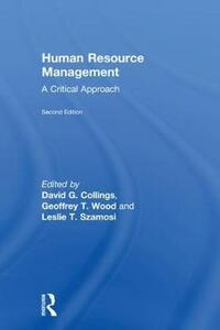 Human Resource Management: A Critical Approach - cover