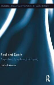 Paul and Death: A Question of Psychological Coping - Linda Joelsson - cover